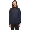 Giorgio Armani Blue Cashmere Sweater