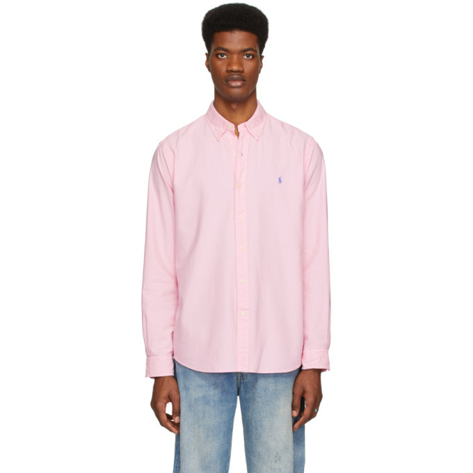 Photo: Polo Ralph Lauren Pink Classic Fit Shirt