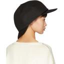 Raf Simons Black Double Cap
