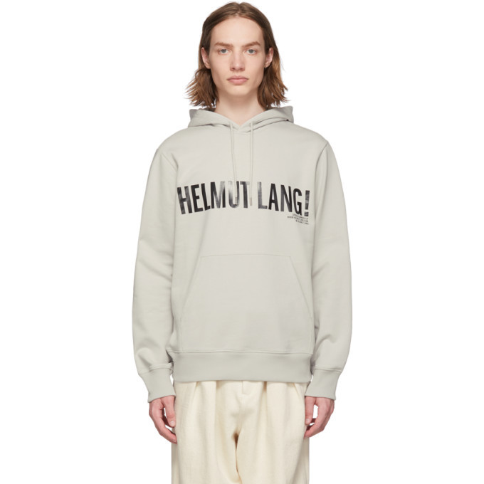 Photo: Helmut Lang Grey Exclamation Hoodie