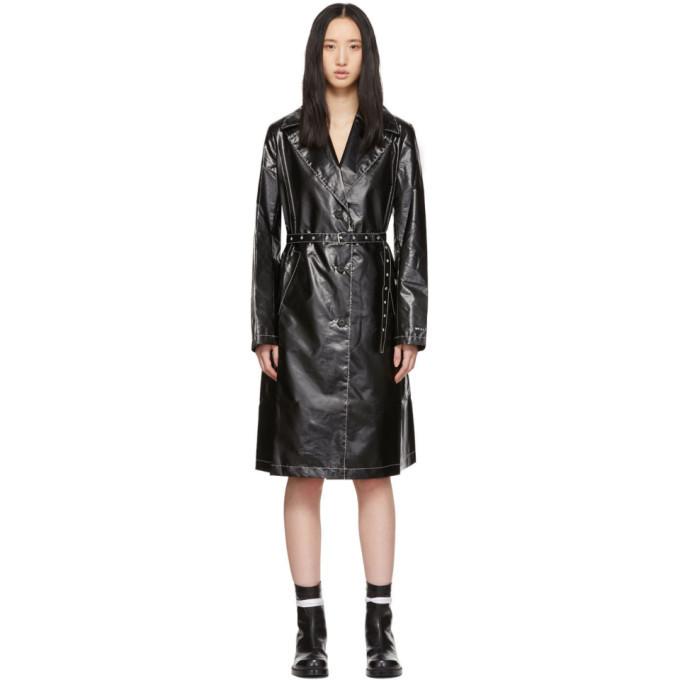 1017 ALYX 9SM Black Williams Trench Coat
