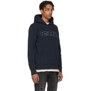 Ksubi Navy Sign Of The Times Hoodie