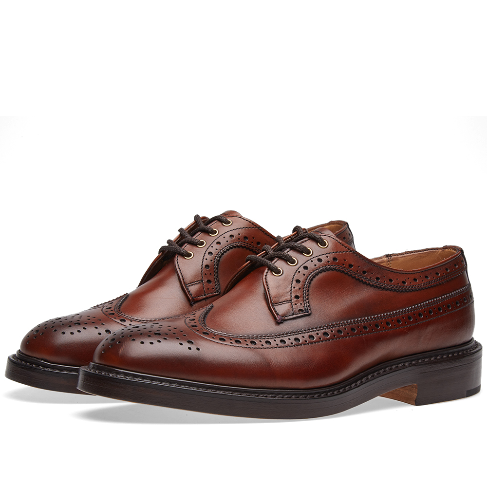Photo: END. x Tricker's Richard Brogue Brown