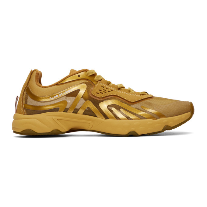 Photo: Acne Studios Gold Trail Sneakers