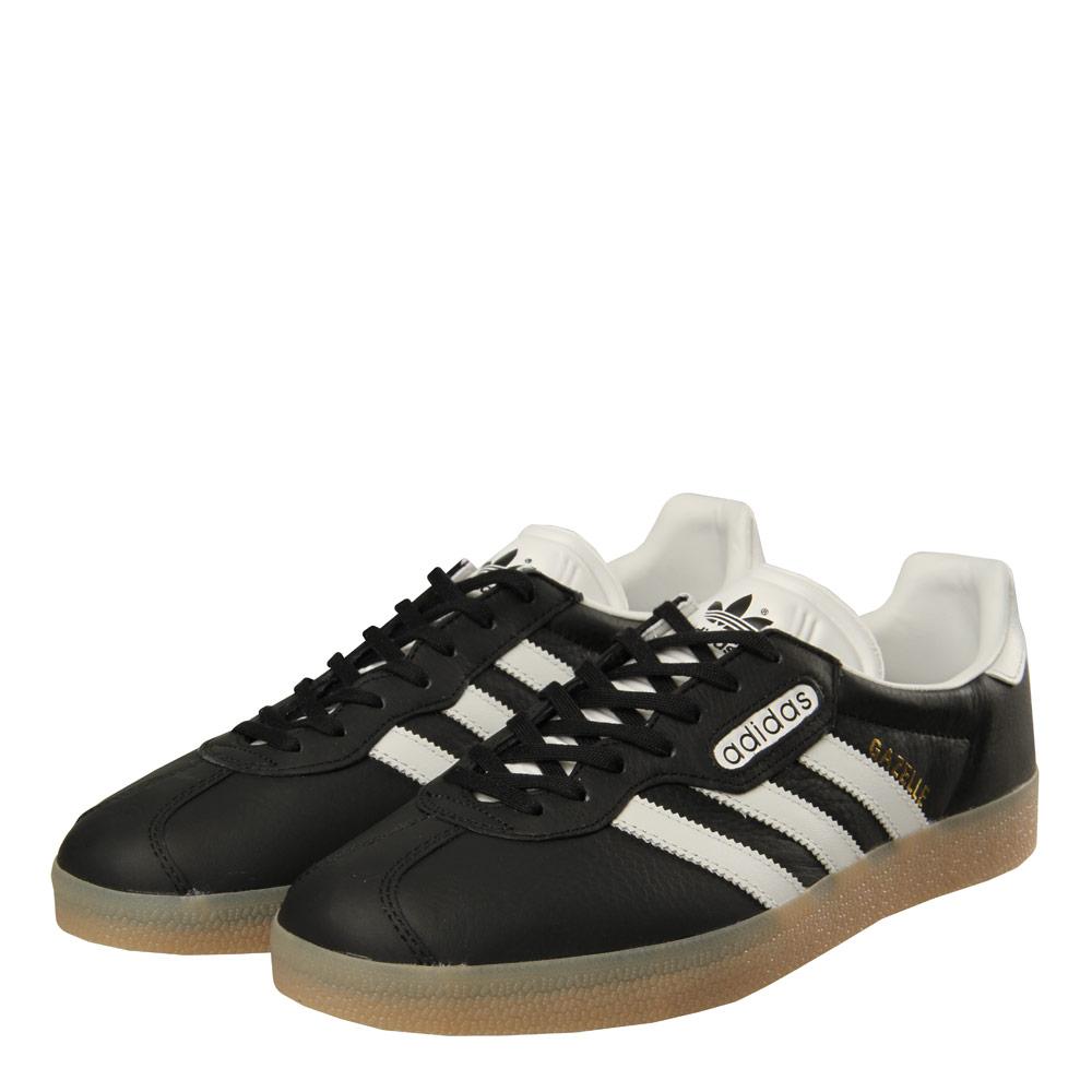 Gazelle Super - Black / White