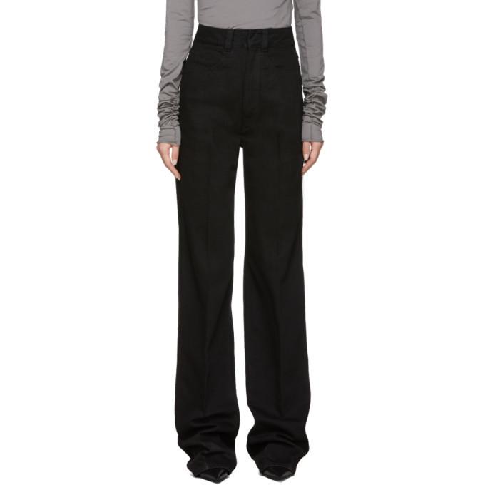 Photo: Lemaire Black Large Jeans
