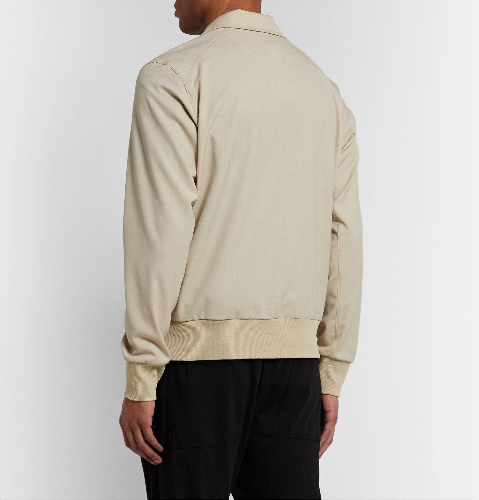 Y-3 - Wool-Blend Track Jacket - Neutrals
