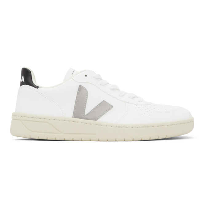 Photo: Veja White V-12 Sneakers