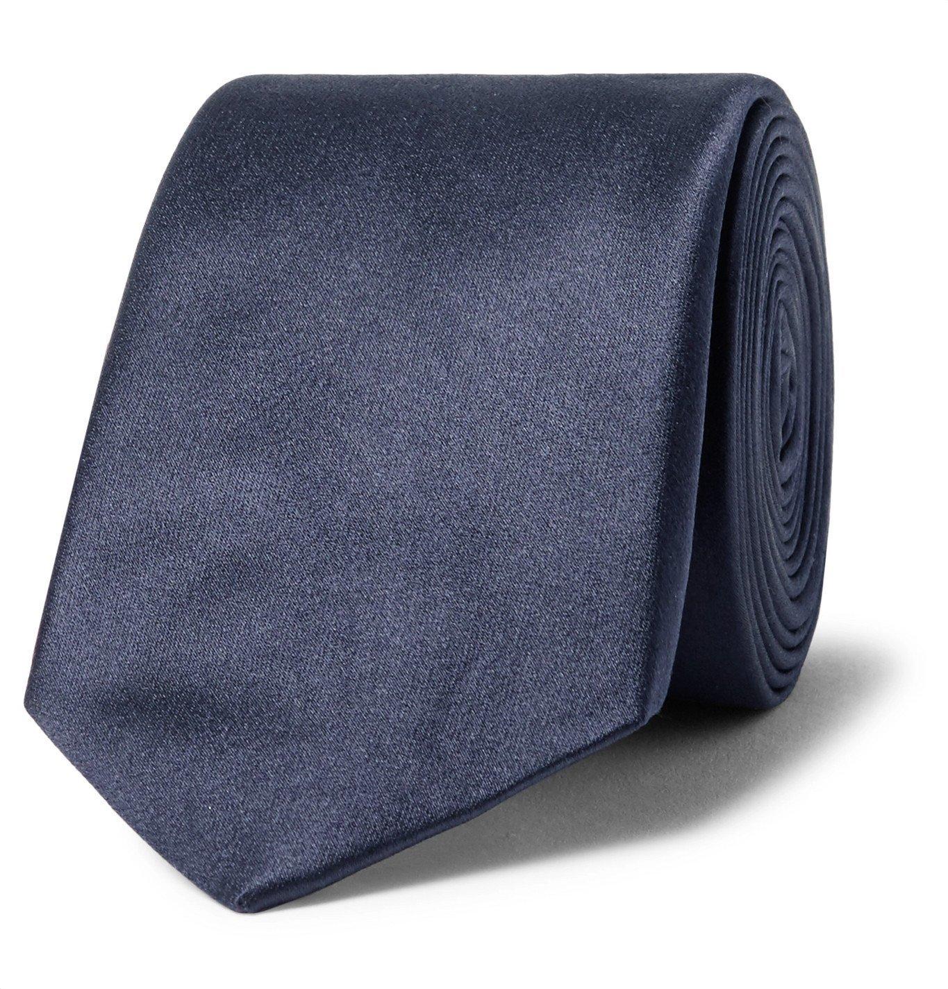 Photo: Lanvin - 6cm Silk-Satin Tie - Blue