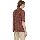 Aries Orange Leopard Chains Hawaiian Shirt