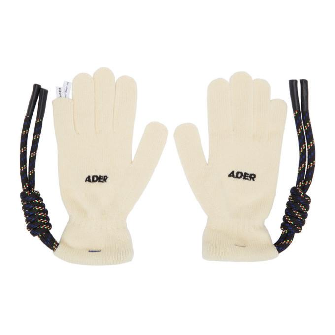 Photo: ADER error Off-White Crumple Gloves