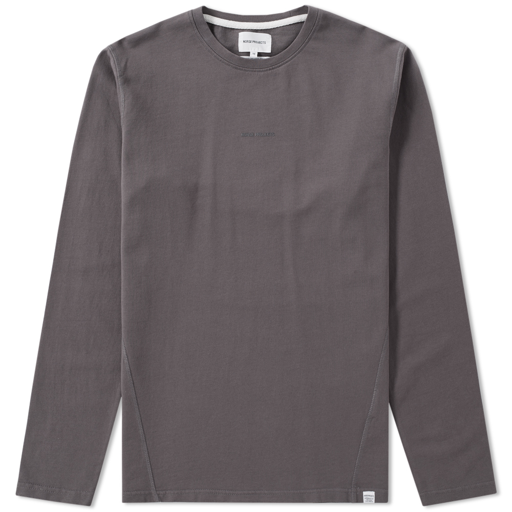 Photo: Norse Projects Long Sleeve James Dry Cotton Tee