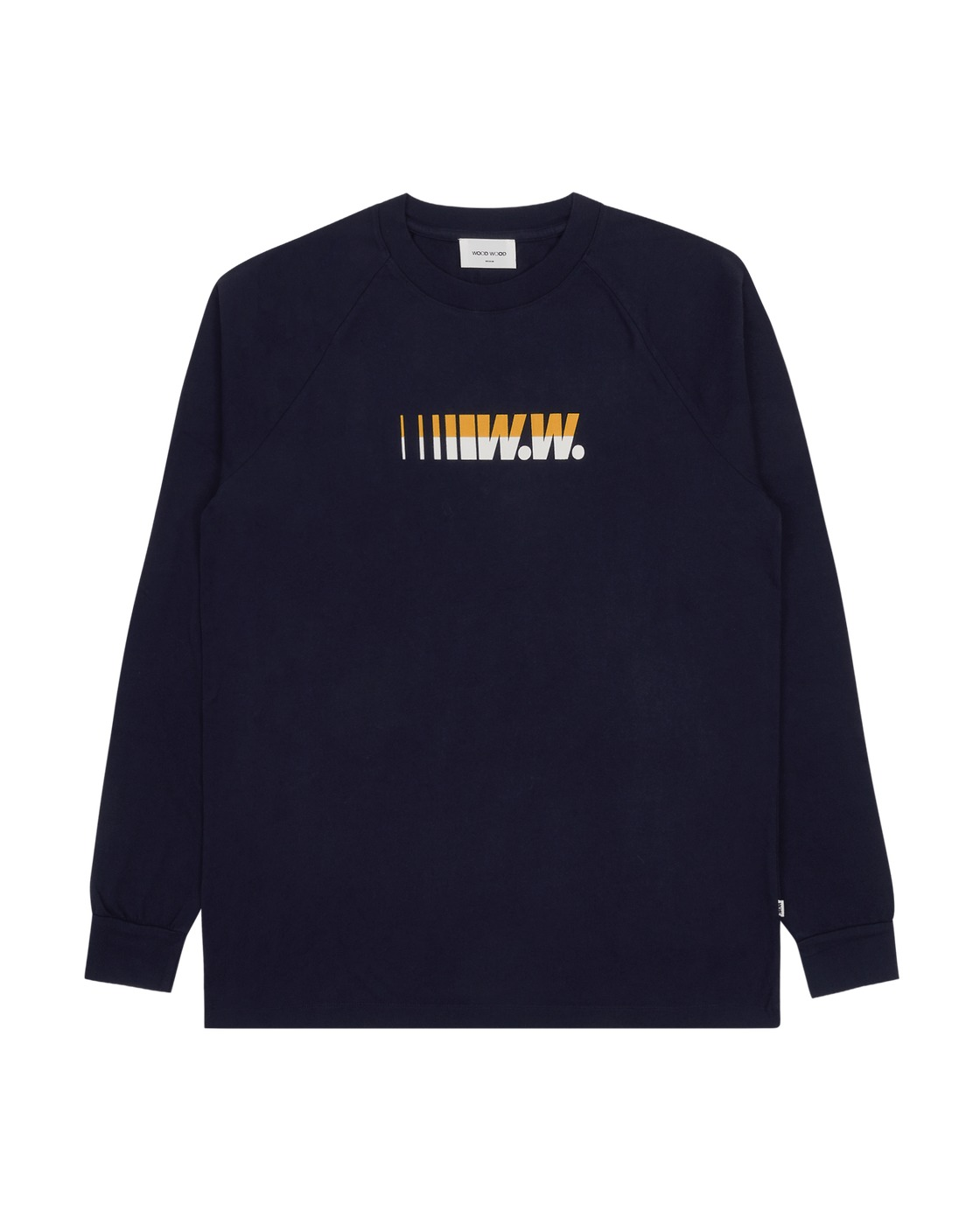 Photo: Wood Wood Han Longsleeve T Shirt Navy