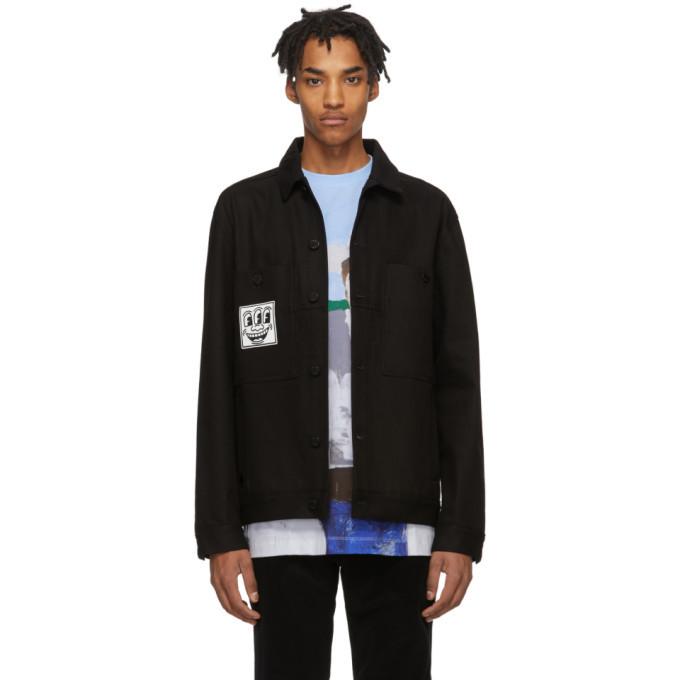Photo: Etudes Black Keith Haring Edition Denim Guest Jacket