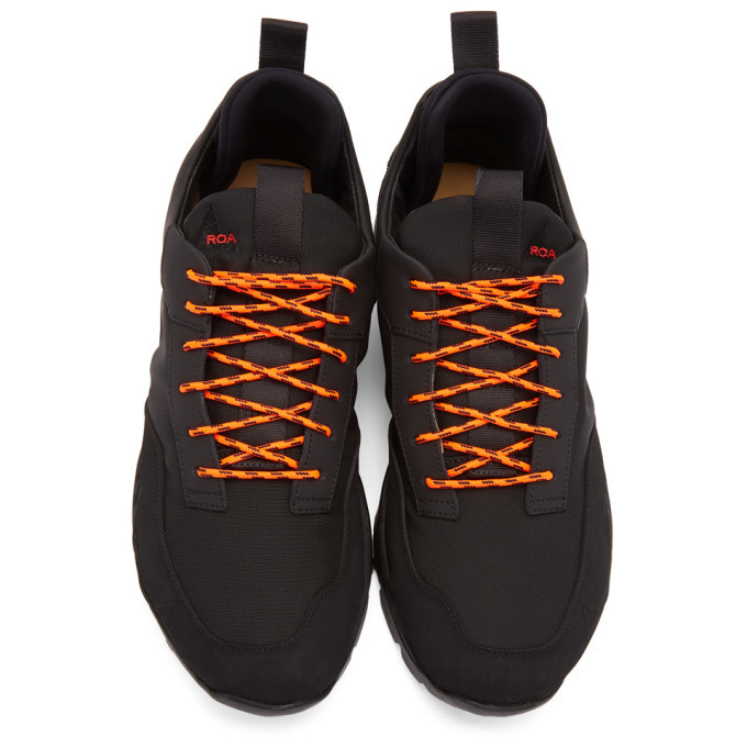 ROA Black Lhakpa Sneakers