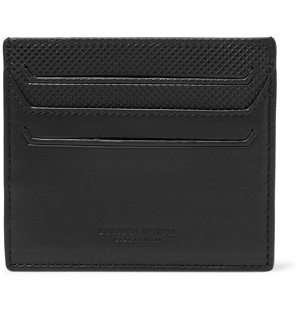 Photo: Bottega Veneta - Debossed Leather Cardholder - Black