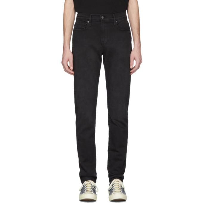 Photo: Frame Black LHomme Athletic Jeans