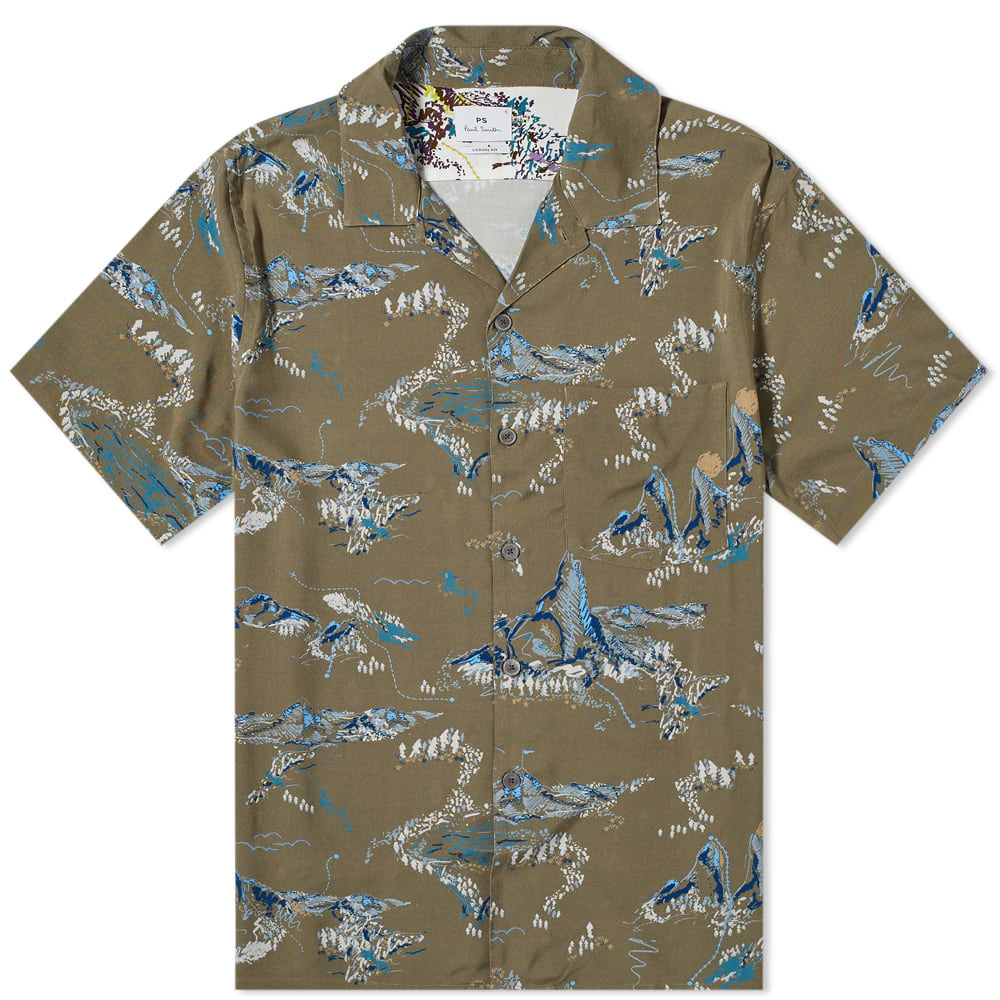 Photo: Paul Smith Mountain Print Vacation Shirt