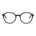 MCQ Black Round Acetate Glasses