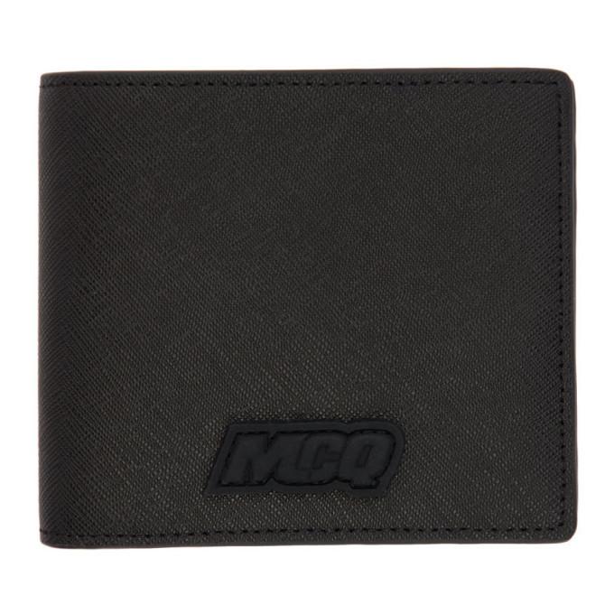 Photo: McQ Alexander McQueen Black Hyper Bifold Wallet