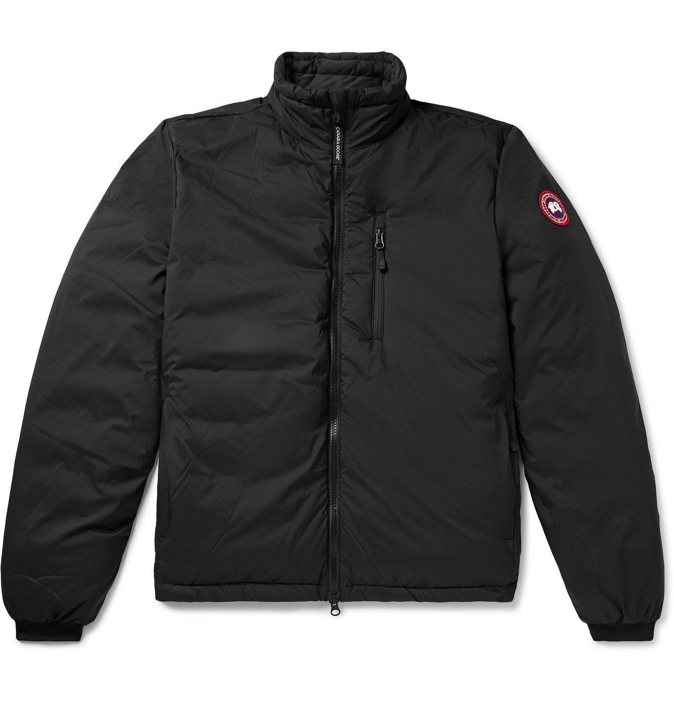 Photo: Canada Goose - Lodge Nylon-Ripstop Down Jacket - Black