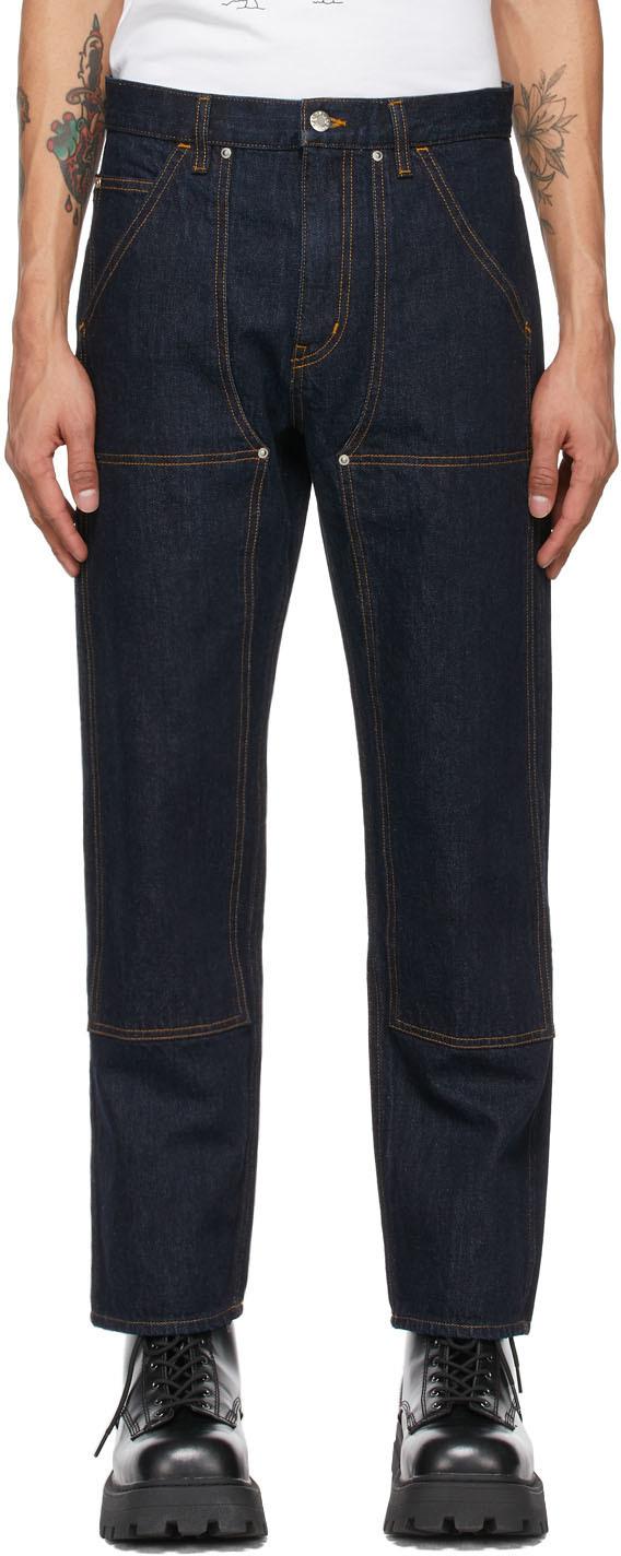 Photo: Helmut Lang Indigo Utility Jeans