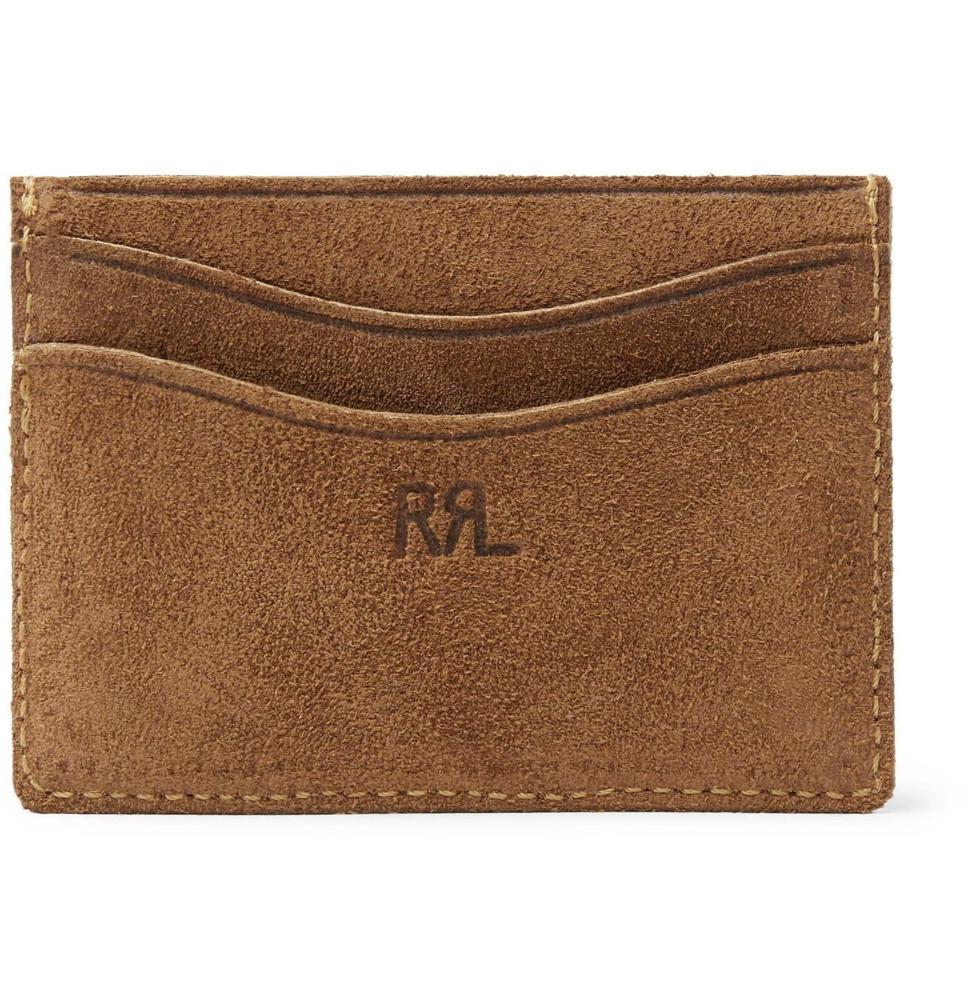 Photo: RRL - Roughout Leather Cardholder - Brown