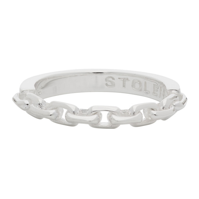 Photo: Stolen Girlfriends Club Silver Chain Ring