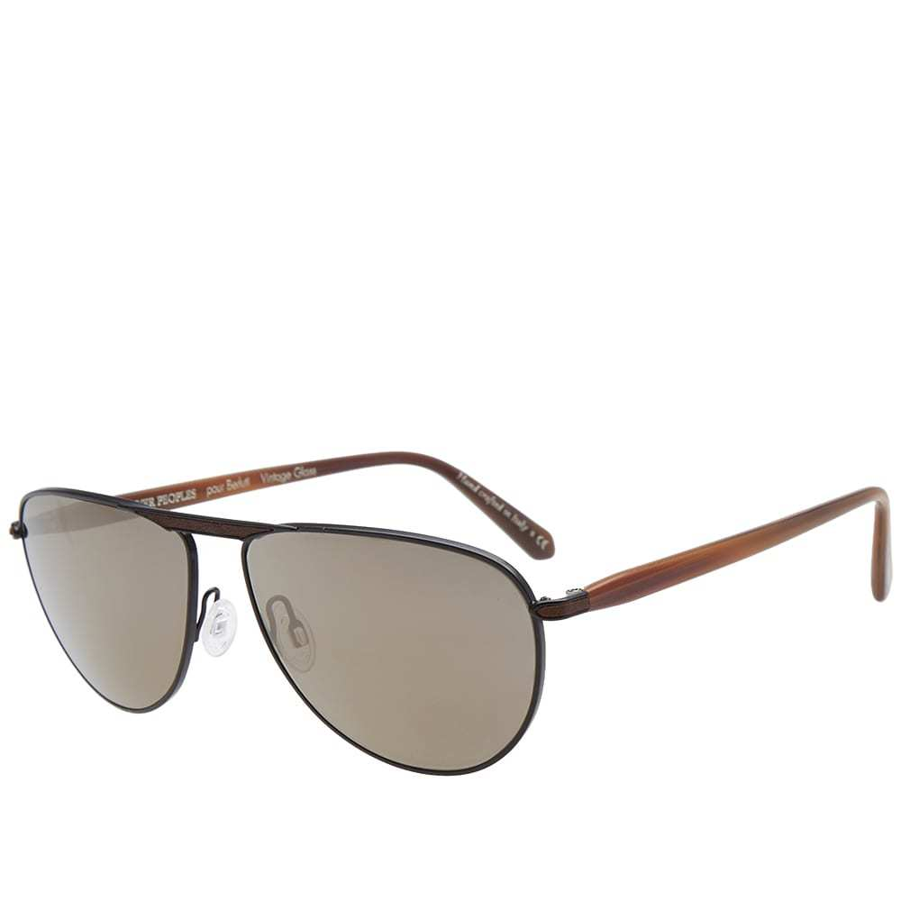 Oliver Peoples x Berluti Conduit Street Sunglasses Black