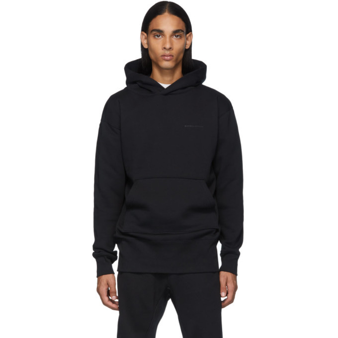 Photo: Bottega Veneta Black Loopback Hoodie