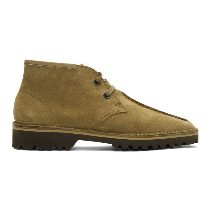 Photo: Lemaire Brown Suede Desert Boots