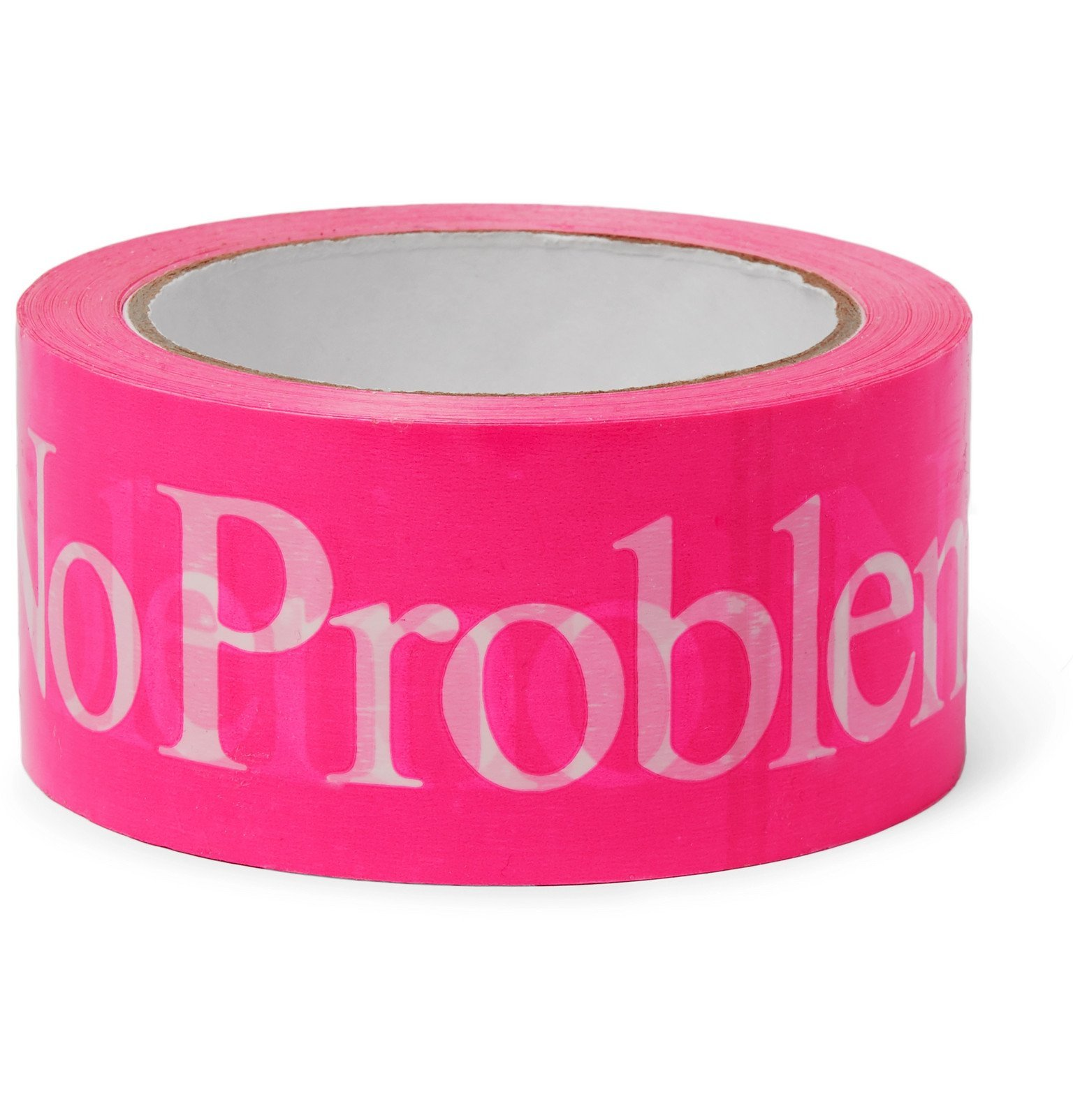 Aries - Logo-Print Vinyl Tape - Pink