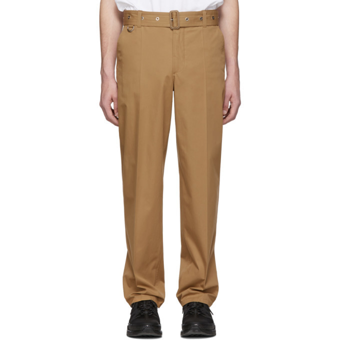 Photo: Burberry Brown Belted Trousers