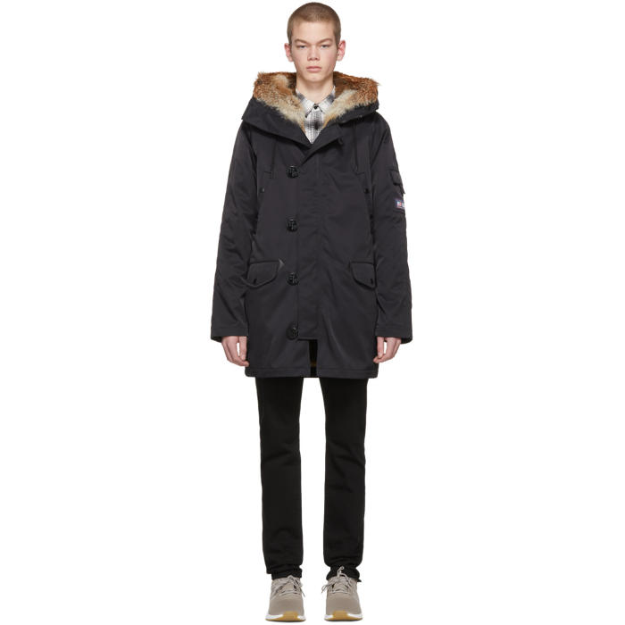 Photo: Opening Ceremony Reversible Black Limited Edition Fur-Lined Parka