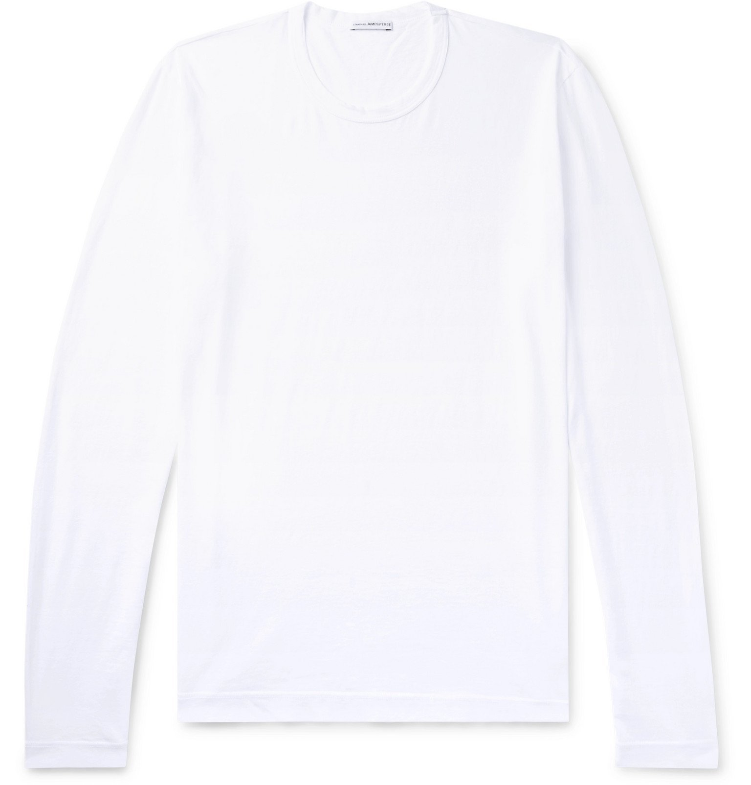 Photo: James Perse - Combed Cotton-Jersey T-Shirt - White