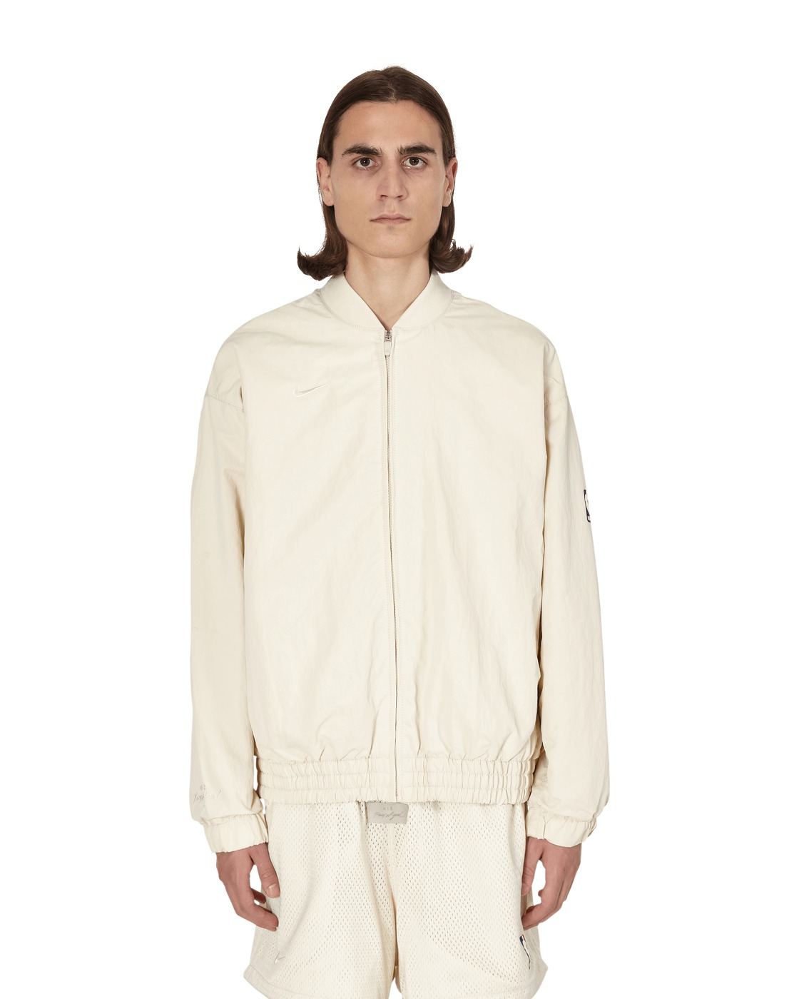 Photo: Nike Special Project Jerry Lorenzo Basketball Jacket Light Cream