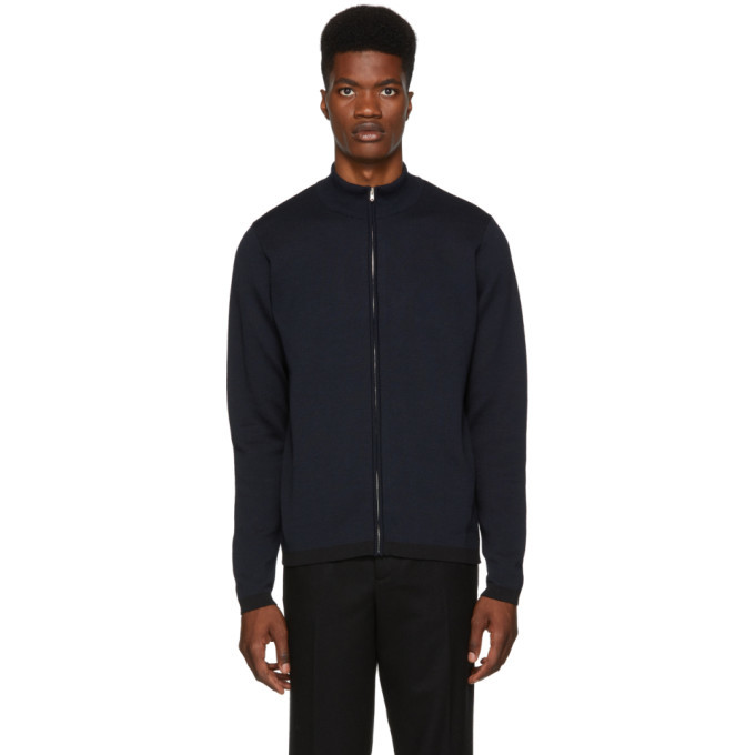 Photo: Norse Projects Navy and Black FjordSweater