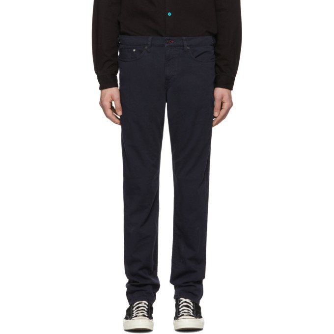 Photo: PS by Paul Smith Navy Tapered Jeans