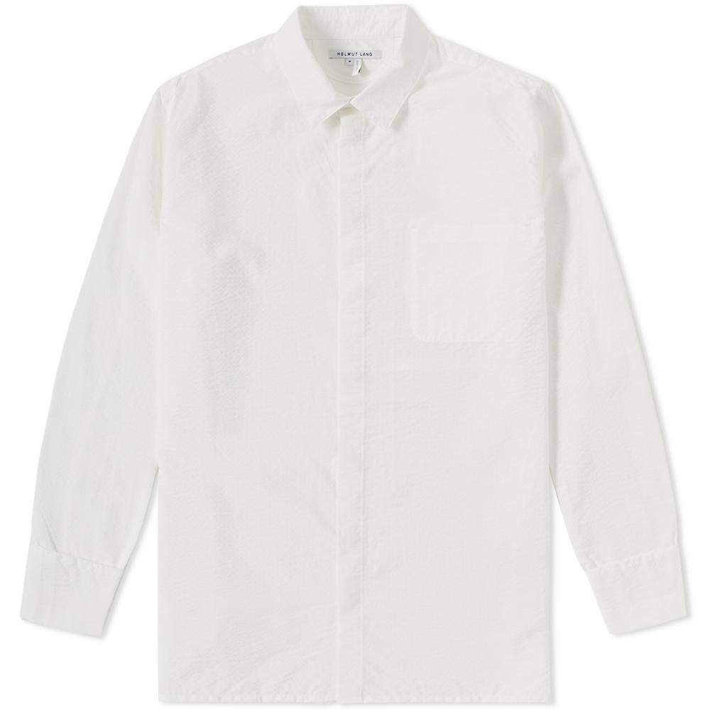 Photo: Helmut Lang Folded Cuff Shirt