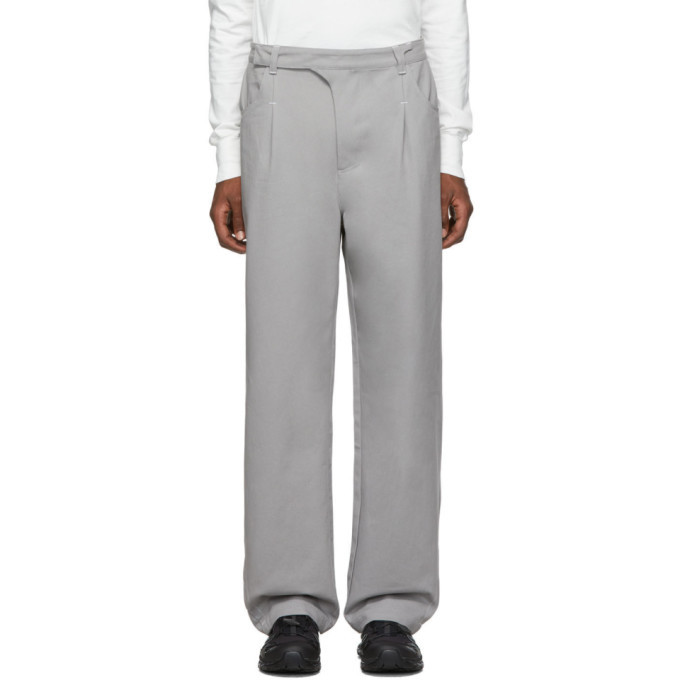 Photo: Post Archive Faction PAF Grey 2.0 Right Trousers