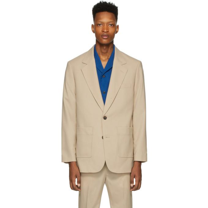 Photo: 3.1 Phillip Lim Beige Wool 2-Button Blazer