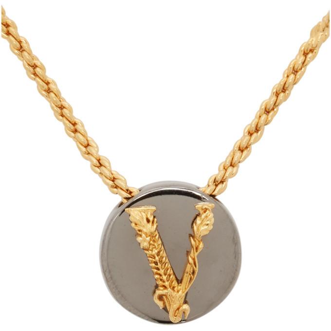 Versace Gold Virtus Necklace