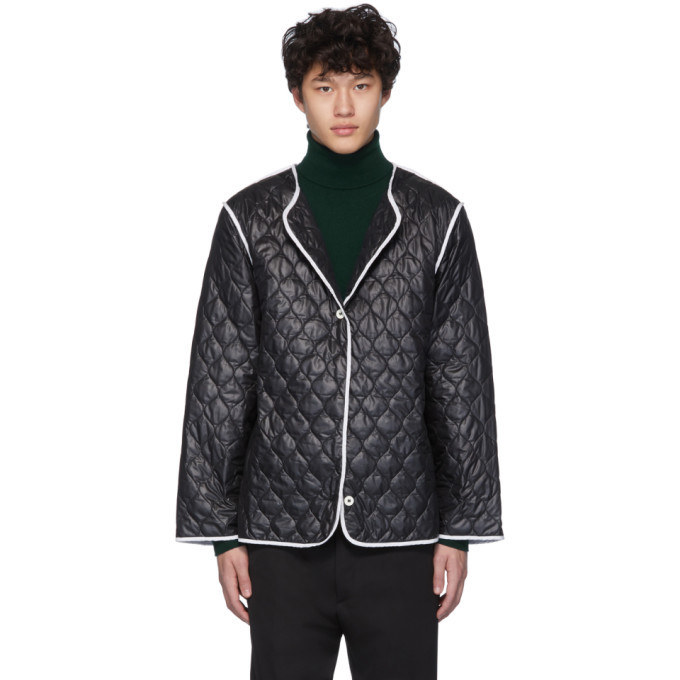 Photo: Sunnei Black Quilted Jacket