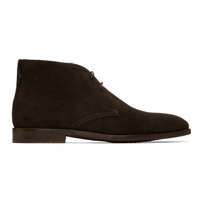 Photo: PS by Paul Smith Brown Suede Arni Chukka Boots