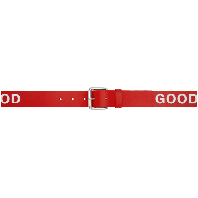 Photo: PS by Paul Smith Red Good Belt