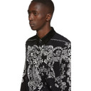 Sacai Black Floral Shirt