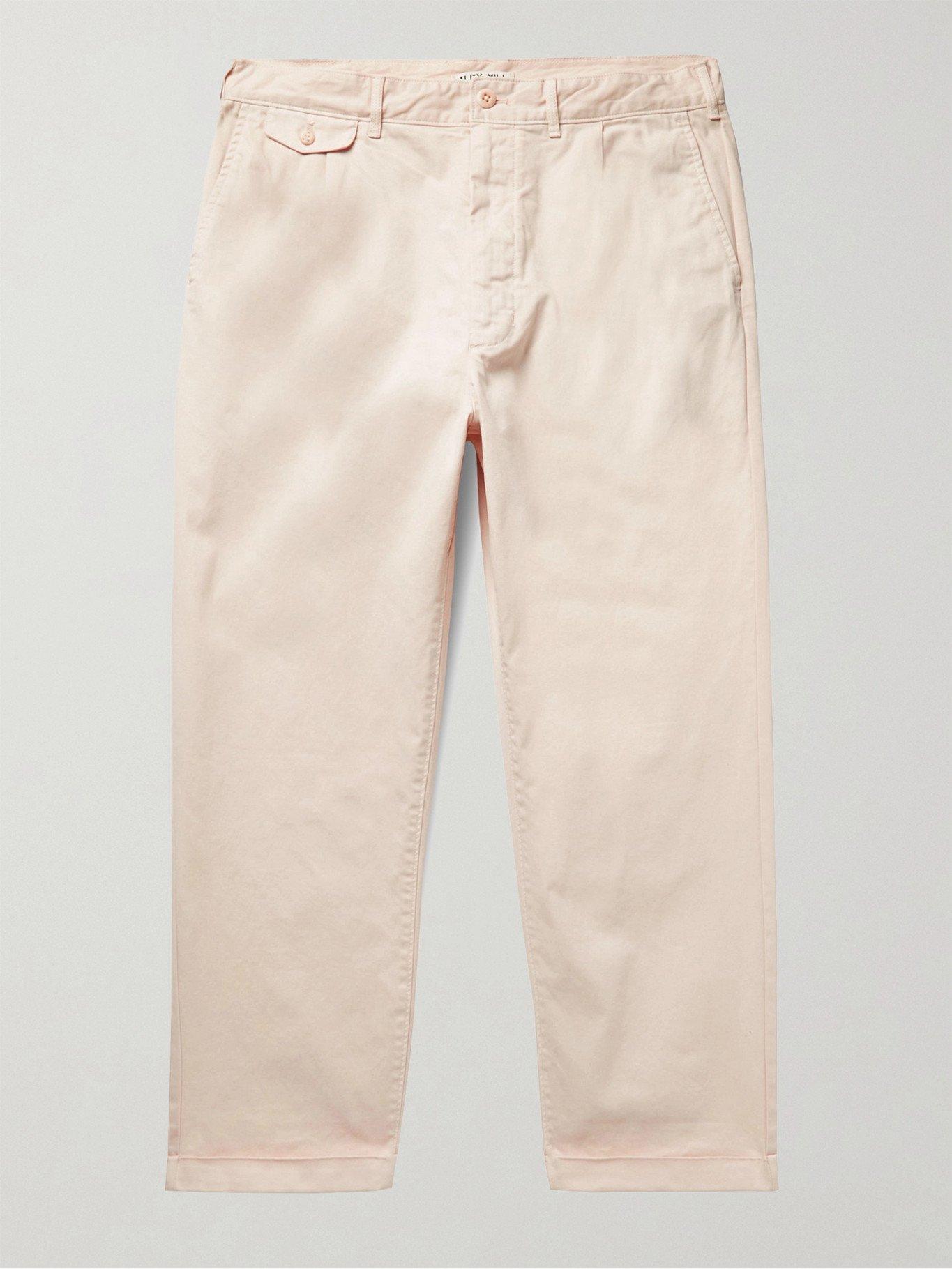 Photo: ALEX MILL - Cotton-Blend Twill Chinos - Neutrals