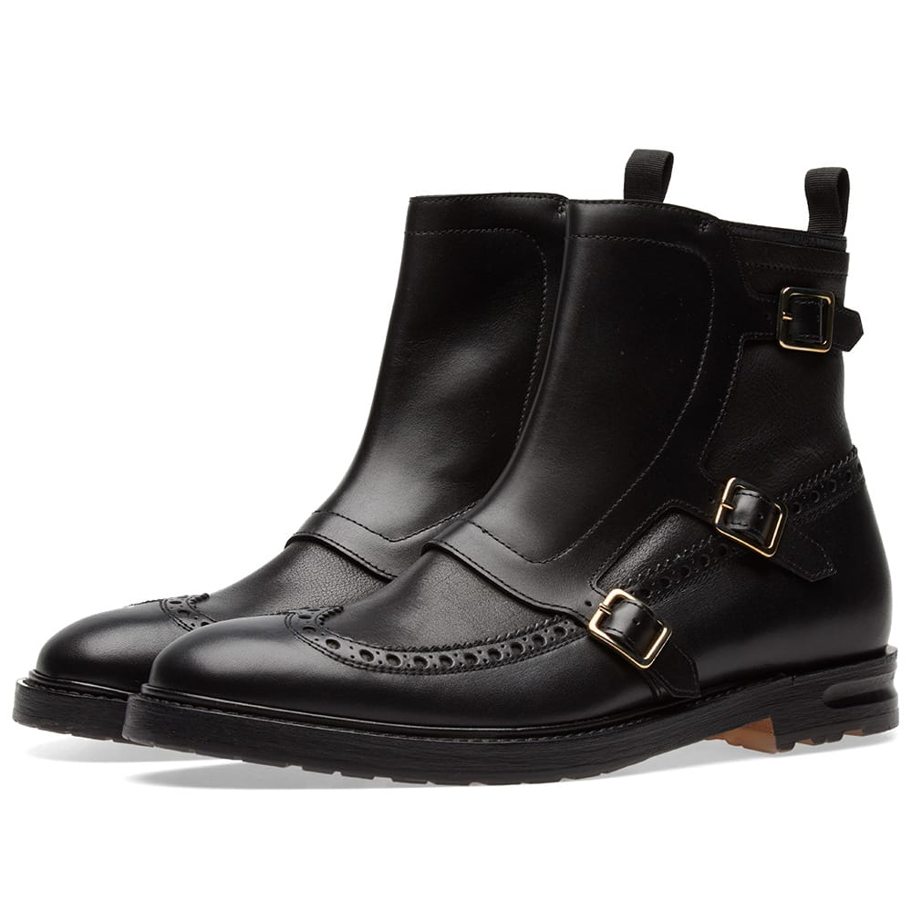 Photo: Alexander McQueen Biker Brogue Boot