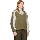 GmbH Khaki Fleece Two-Tone Ercan Jacket
