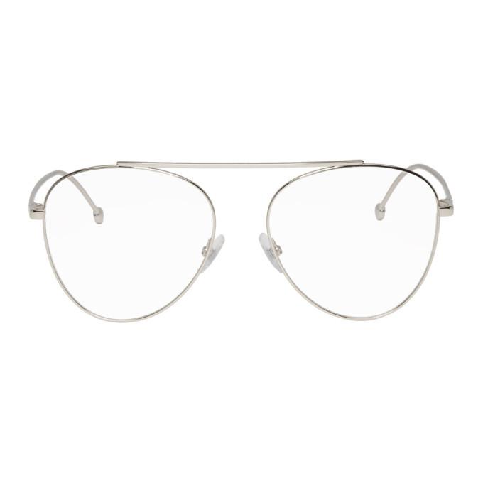 Photo: Fendi Silver Forever Fendi 0352 Glasses